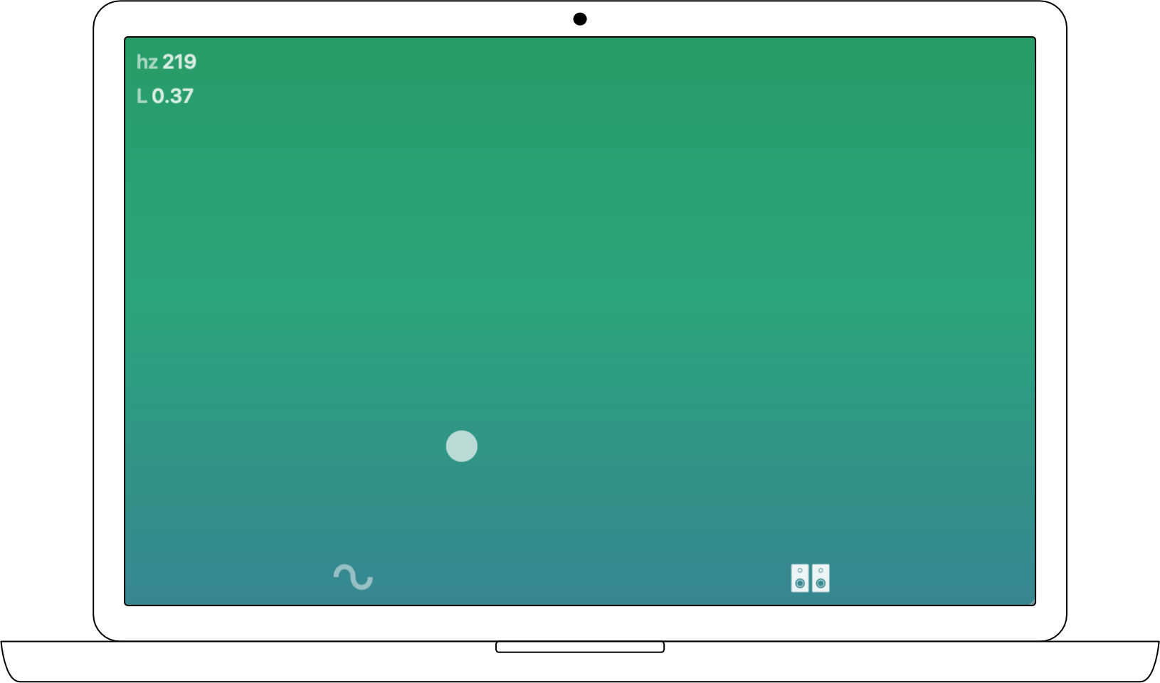 Stereo mode allows users to test stereo panning